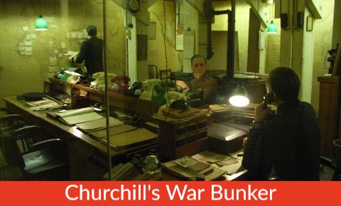 Family London Tours London Attraction Small War Rooms