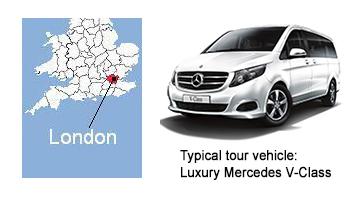 X Family London Tours Map 01