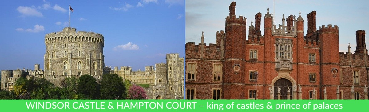 Family London Tours From London Main Windsor Castle & Hampton Court