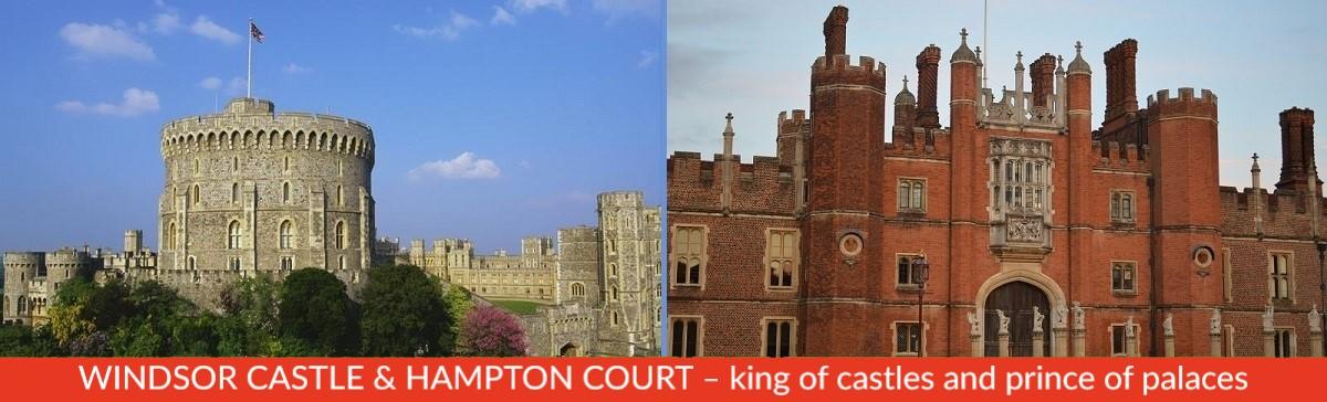 Windsor Castle and Hampton Court Tour